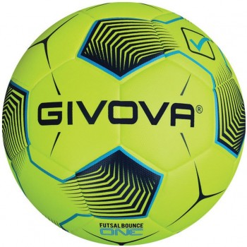 PALLONE FUTSAL BOUNCE ONE 1924 - Giallo FLuo/Turchese