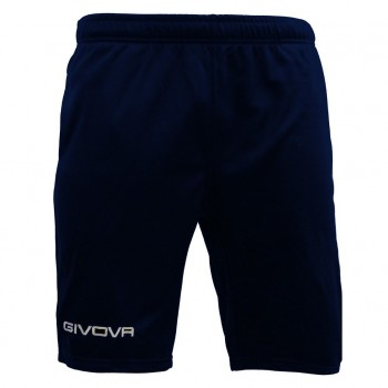 BERMUDA GIVOVA ONE IN POLARFLEECE 0004 - Blu